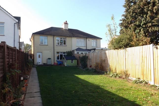 Thumbnail Semi-detached house for sale in St. Neots Road, Sandy, Bedfordshire