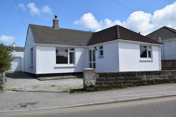 Thumbnail Detached bungalow for sale in Newton Road, Troon, Camborne
