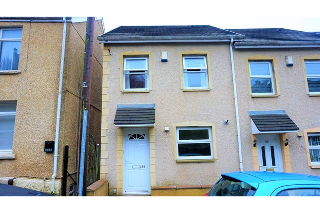 Thumbnail Town house for sale in Trewyddfa Road, Swansea