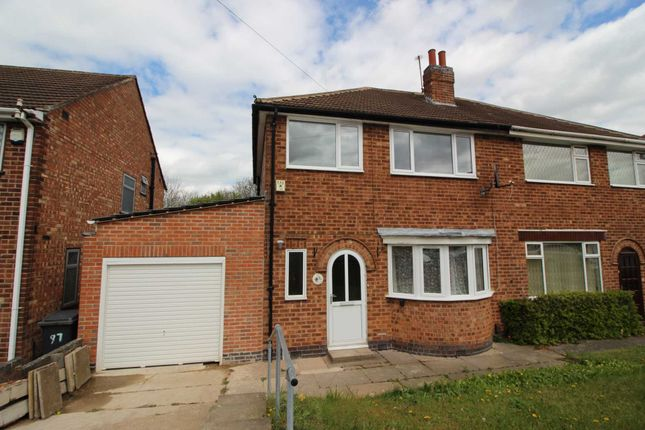 Thumbnail Semi-detached house for sale in Heacham Drive, Leicester