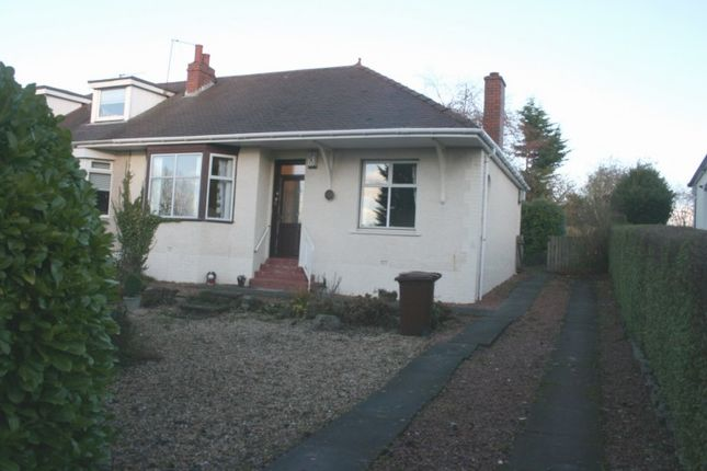 Thumbnail Semi-detached bungalow for sale in Townhead Road, Coatbridge