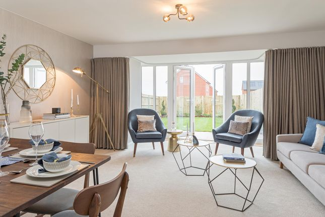"Thumbnail End terrace house for sale in ""Woodcote"" at Station Road, Methley, Leeds"