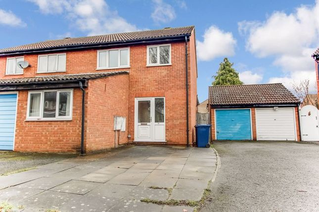 Thumbnail Semi-detached house to rent in Cunningham Way, Eaton Socon, St. Neots