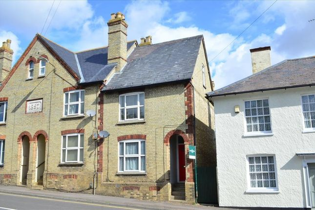 Thumbnail End terrace house for sale in Baldock Street, Royston