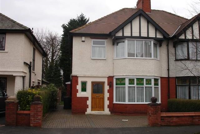 Thumbnail Semi-detached house to rent in Manor Avenue, Fulwood, Preston, Lancashire