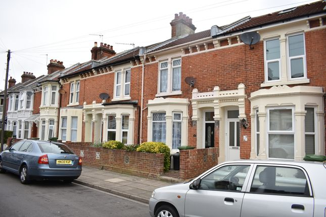 Thumbnail Terraced house to rent in Oliver Road, Southsea, Portsmouth, Hampshire
