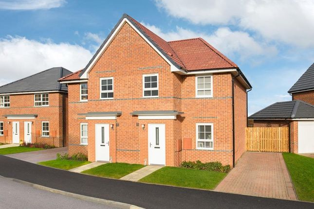 """Thumbnail End terrace house for sale in """"Palmerston"""" at Wheatley Hall Road, Doncaster"""