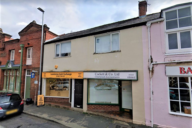 Thumbnail Retail premises for sale in Rainbow Street, Leominster