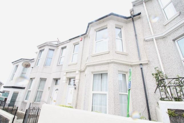 Thumbnail Terraced house to rent in Lipson Avenue, Plymouth