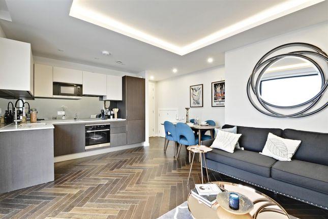 Reception of Porteus Apartments, Britannia Road, Fulham, London SW6