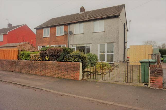 Thumbnail Semi-detached house for sale in Conway Road, Newport