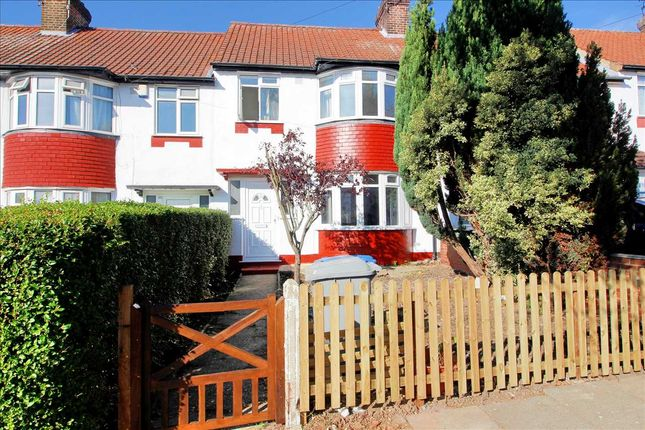 Thumbnail 3 bed terraced house to rent in Boycroft Avenue, Kingsbury