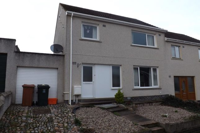 Thumbnail Semi-detached house for sale in Spynie Street, Elgin