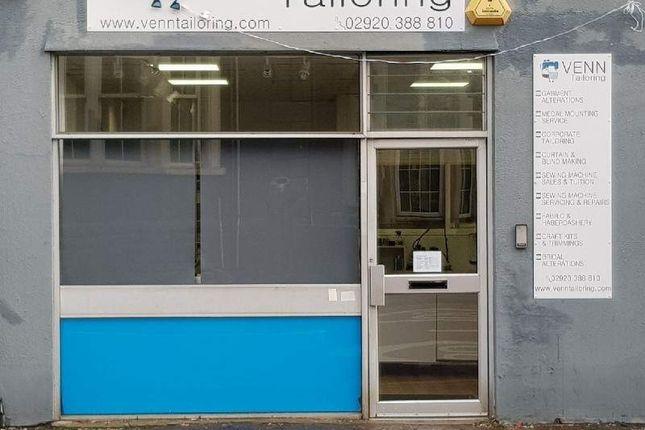 Thumbnail Retail premises for sale in 14 Llandaff Road, Cardiff