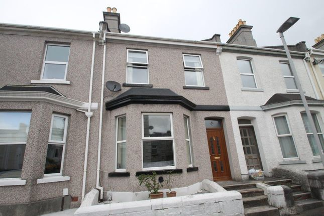 Thumbnail Terraced house to rent in Dundonald Street, Plymouth