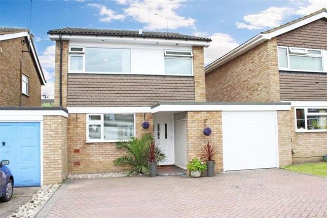 Thumbnail Link-detached house to rent in The Coppens, Stotfold, Hitchin