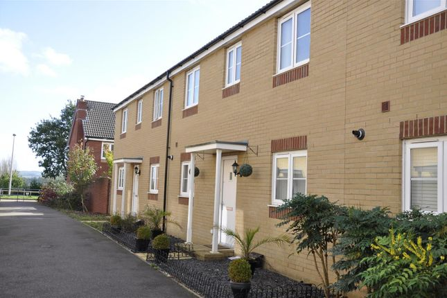 Thumbnail Terraced house to rent in Carnegie Walk, Exeter