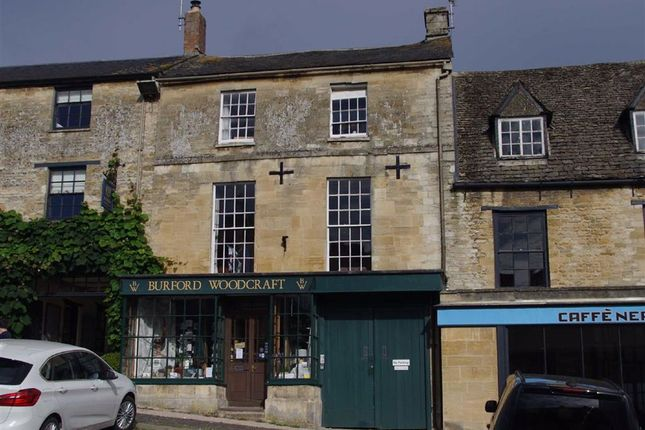 Thumbnail Town house for sale in High Street, Burford, Oxfordshire