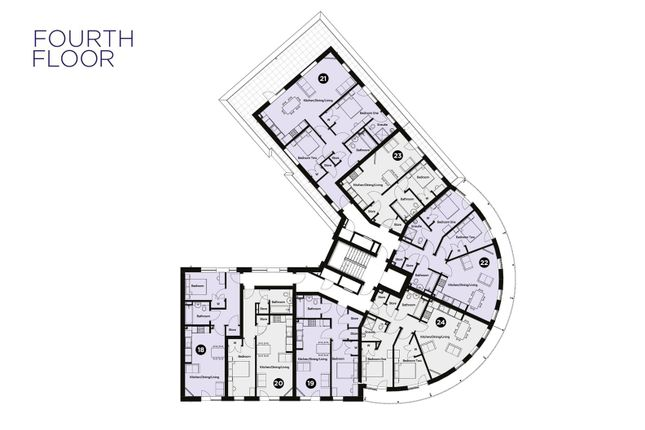 Thumbnail Flat for sale in Colne View, Lightship Way, Colchester