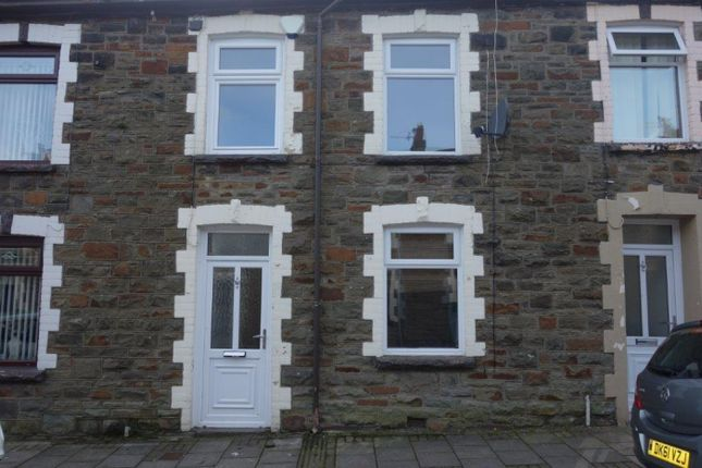 Thumbnail Terraced house to rent in Hill Street, Maerdy