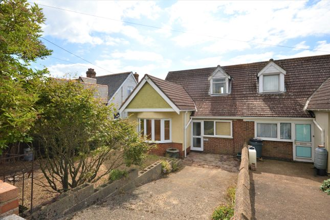 Thumbnail Semi-detached house for sale in New Dover Road, Capel-Le-Ferne, Folkestone