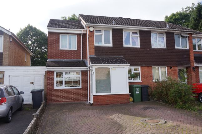 Thumbnail Semi-detached house for sale in Salford Close, Redditch