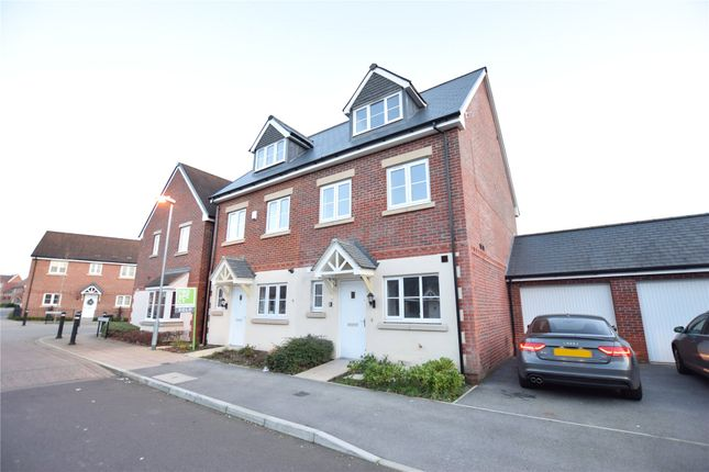 Thumbnail Semi-detached house to rent in Shearwater Drive, Bracknell, Berkshire