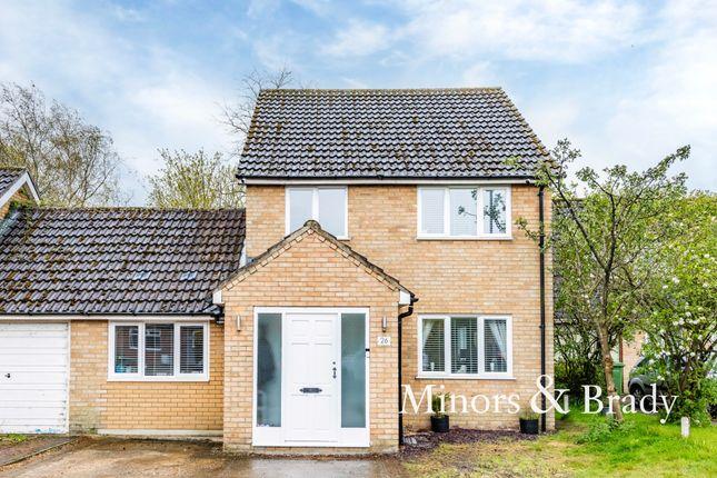 4 bed link-detached house for sale in Parklands Avenue, Shipdham, Thetford IP25
