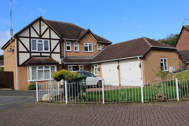 Thumbnail Detached house to rent in Jasmine Close, Hamilton, Leicester