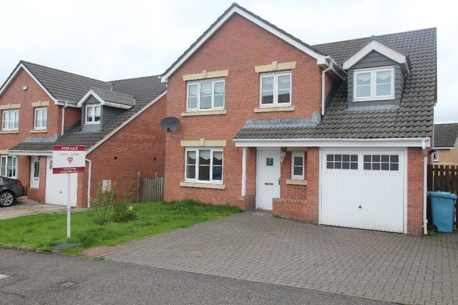 Thumbnail Detached house for sale in Linkwood Road, Airdrie, North Lanarkshire