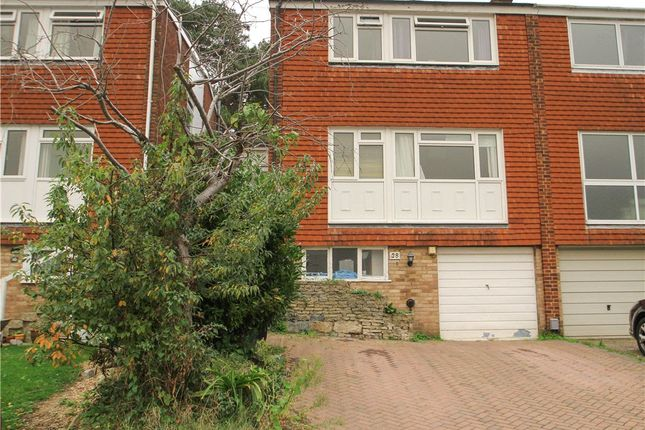 Thumbnail Semi-detached house for sale in Connop Way, Frimley, Camberley, Surrey