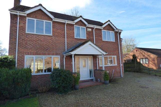 Thumbnail Detached house for sale in Hymers Close, Brandesburton, Driffield