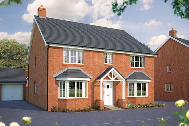 "Thumbnail Detached house for sale in ""The Winchester"" at Beancroft Road, Marston Moretaine, Bedford"