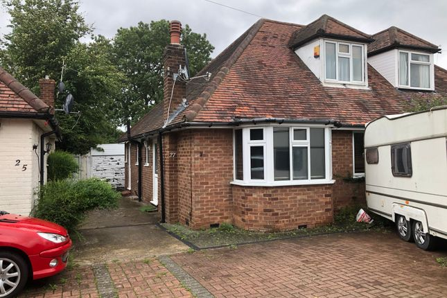 Thumbnail Semi-detached bungalow to rent in Chartley Avenue, Stanmore