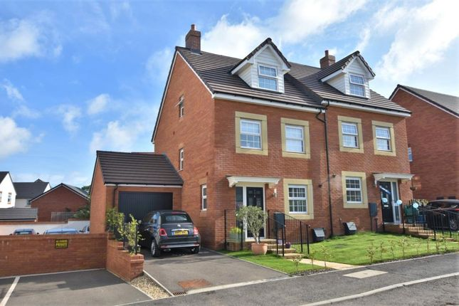Thumbnail Semi-detached house to rent in Meadow Acre Road, Gittisham, Honiton, Devon