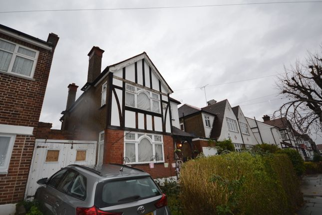 Thumbnail Detached house for sale in Ambleside Gardens, Wembley