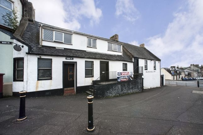 Thumbnail Pub/bar for sale in 2 Vennel Street, Dalry, North Ayrshire
