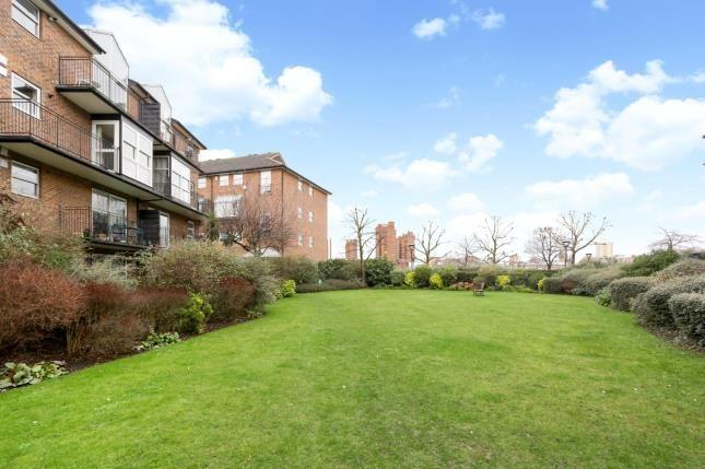 Communal Gardens of Thorney Crecent, Battersea, London SW11