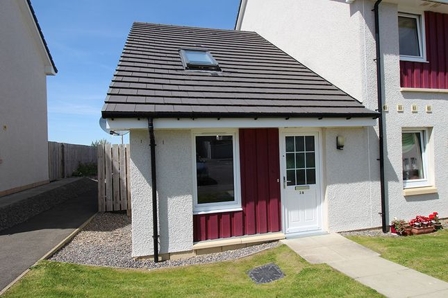 Thumbnail End terrace house for sale in Larchwood Drive, Inverness