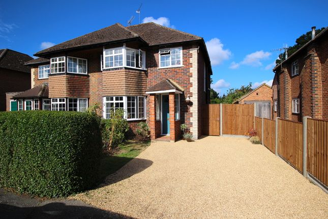 Thumbnail Semi-detached house to rent in Glendale Drive, Burpham, Guildford