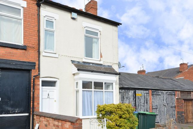 Thumbnail Terraced house for sale in Loxley Road, Bearwood
