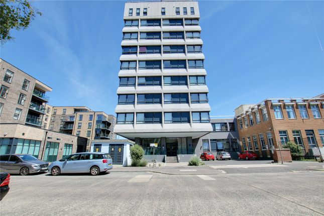 Thumbnail 2 bed flat for sale in Skyline Apartments, 1 The Causeway, Worthing, West Sussex
