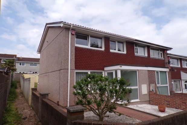 Thumbnail End terrace house to rent in Speedwell Crescent, Plymouth