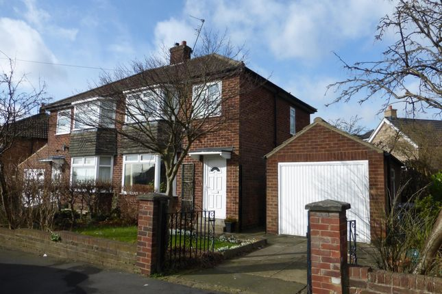 Thumbnail Semi-detached house to rent in Crossways Drive, Harrogate, North Yorkshire