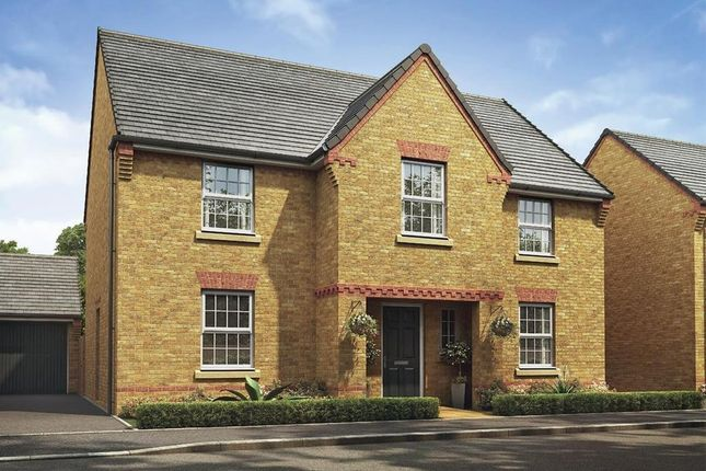 "Thumbnail Detached house for sale in ""Winstone"" at Watling Street, Little Brickhill, Milton Keynes"