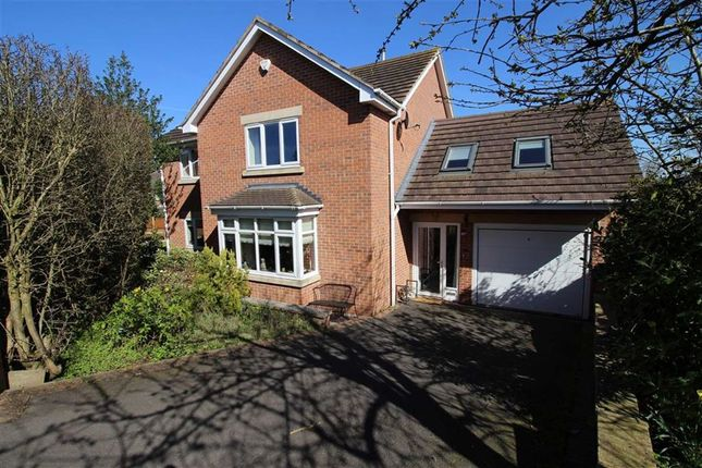 Thumbnail Detached house for sale in Spenbeck Drive, Allestree, Derby