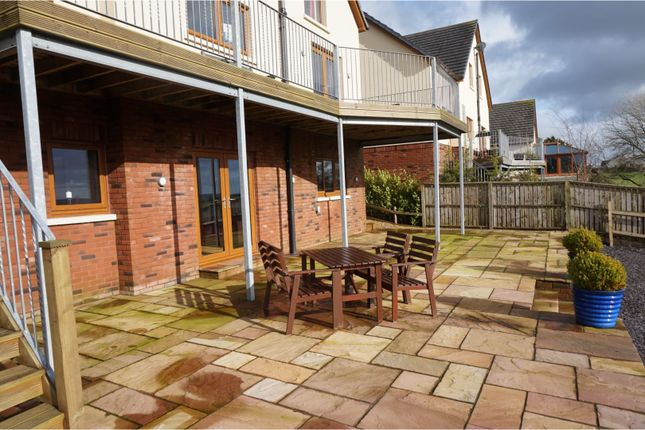 Patio of Trem Y Cwm, Llangynin, St. Clears, Carmarthen SA33