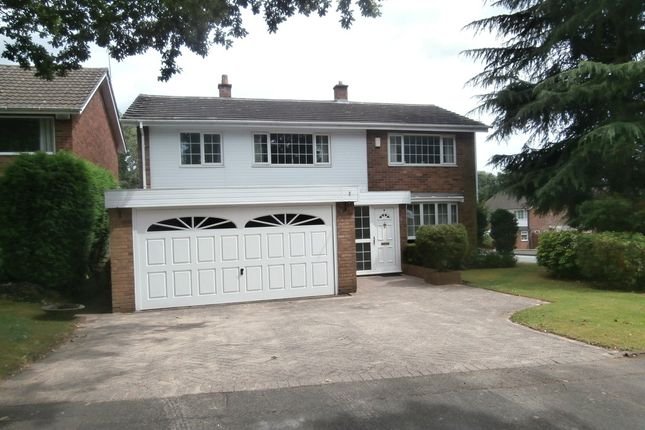 Thumbnail Detached house for sale in Linforth Drive, Streetly, Sutton Coldfield