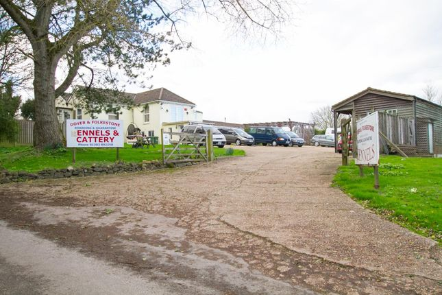 Thumbnail Detached bungalow for sale in White Horse Hill, Hawkinge, Folkestone