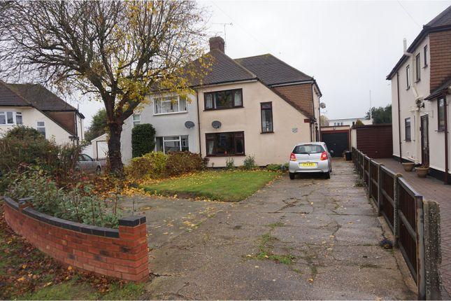 Thumbnail Semi-detached house for sale in Sheridan Avenue, Benfleet